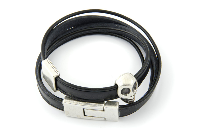 bracelet cuir 6mm