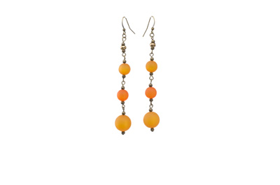 BOUCLES D'OREILLE POLARIS polaris orange