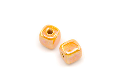 cube 12mm orange x1pc