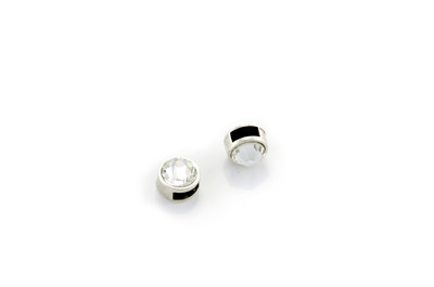 passant strass rond 9mm x1pc