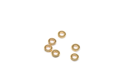 intercalaire 6mm doré x10pcs