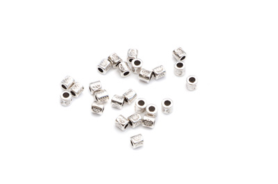 perle tube 3x3mm x10pcs