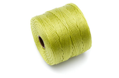fil nylon torsadé 0,6mm avocat x5m