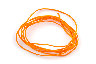 fil satin 0,7mm orange x5m