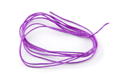 fil satin 0,7mm violet x5m