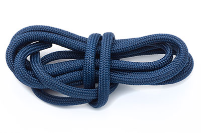 paracord 4mm bleu marine x1m