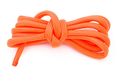 paracord 4mm orange x1m