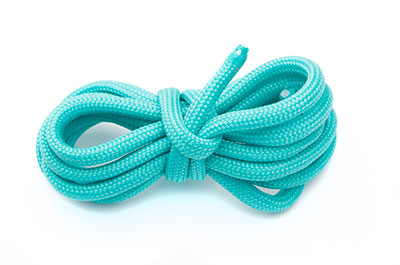 paracord 4mm aqua x1m