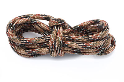 paracord 4mm multi marron x1m
