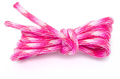 paracord 4mm multi rose x1m