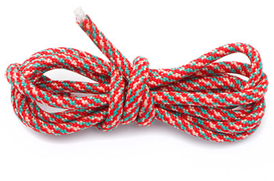paracord 4mm multi rouge x1m