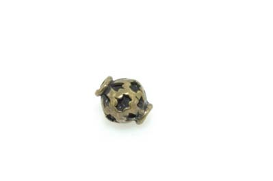 perle bronze 7*10mm x1pc