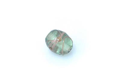 perle golden olive vert clair brillant 20mm x1pc