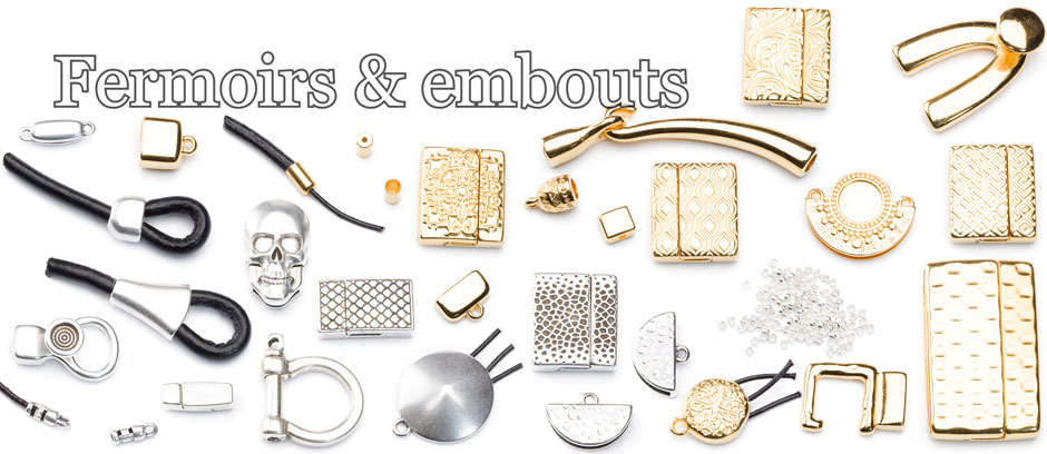 noire patine Bijoux Fermeture zamak Crochet Fermeture Argent Couleurs 40 mm 1 St