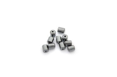 tube hématite 4mm x1 fil (env 50pcs)