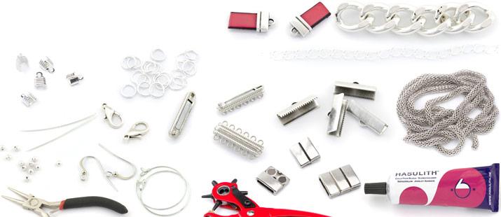 accessoires pour fabrication de bijoux